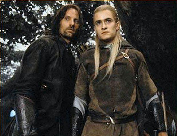 Aragorn et Legolas : Image du Net n° 2