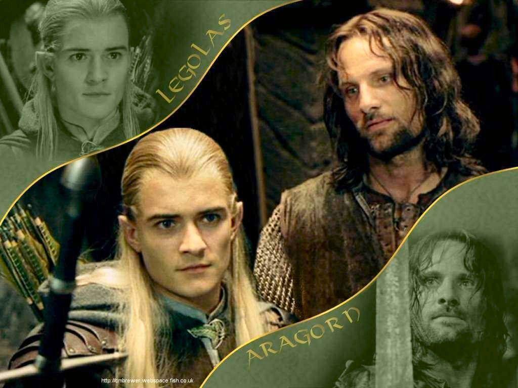 Aragorn et Legolas Fonds d ecrans du Net